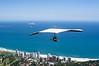 Handglider Flying Over Rio de Janeiro
