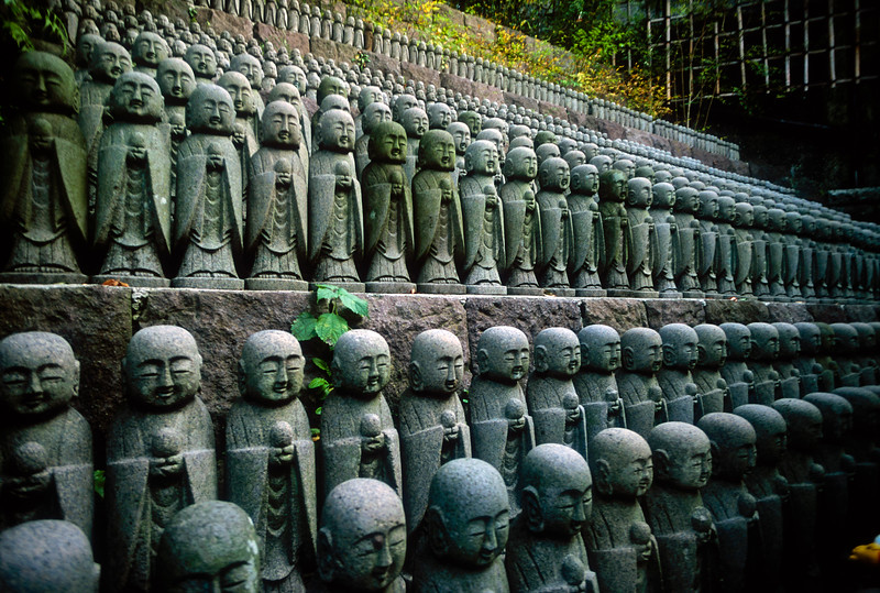 Baby Buddhas of Hase-Dera Temple, japan