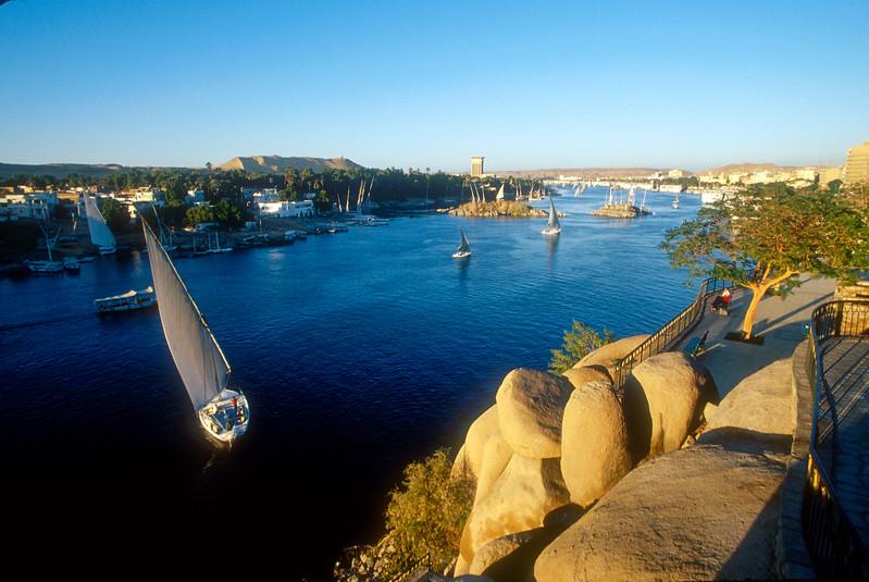 Nile River, Aswan, Egypt