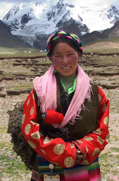 Himalayas, Tibet.