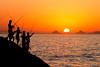 Sunset at Arpoador Rock, Ipanema
