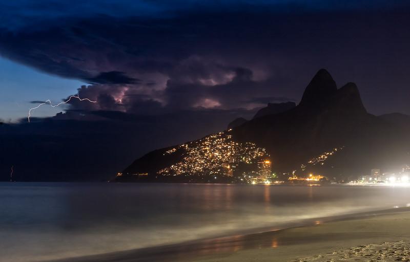 Tropical Storm Over Rio de Janeiro
