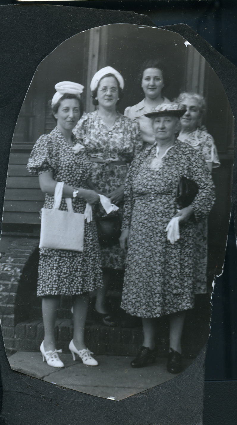Mary Ratowsky Plotkin (second from left)