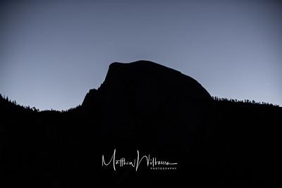 Half Dome Dark