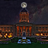 Legislature: Moon and Milky Way