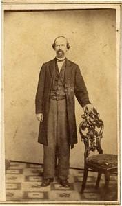 Unidentified Man in Long Coat (01801)