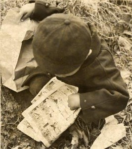 Boy With a Comic Book (02188)