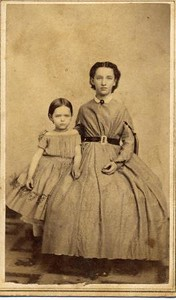 Unidentified Woman and Child (01803)