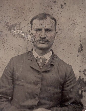 Unidentified Man in a Tintype (07143)