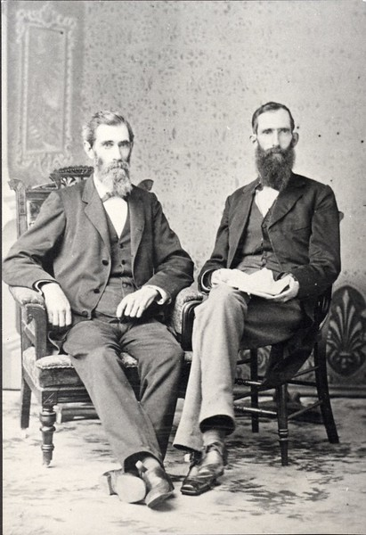 Two Unidentified Seated Men (05043)