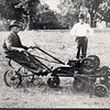 Man on Riding Lawnmower (01838)