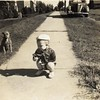 Unidentified Child and Dog (02195)