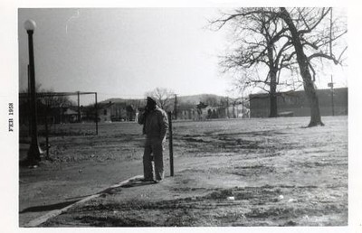Man on E.C. Glass High School Property (00517)