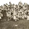 Group of Children Holding Dolls (01645)
