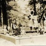 Children in sandbox (02327)