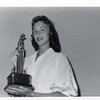 Jean Shaner Lee with Tennis Trophy III (00488)