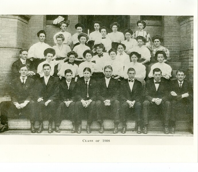 Lynchburg High School Class of 1908  (0 2017. 34. 37)