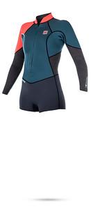 Wetsuit-Diva-longarm-shorty-fz-695-f-17