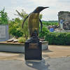 King Penguin Statue Mystic Aquarium Mystic CT