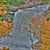 Albion Falls, Hamilton Ontario - with Fall colours