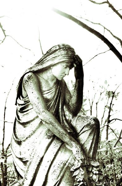 Sister in stone...
