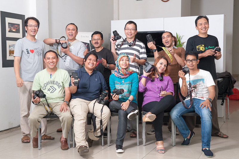 Kursus kilat dasar fotografi & lighting 15-16 November 2014