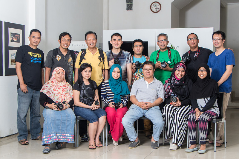 Kursus kilat dasar fotografi dan lighting April 2015 Angkatan ke-72
