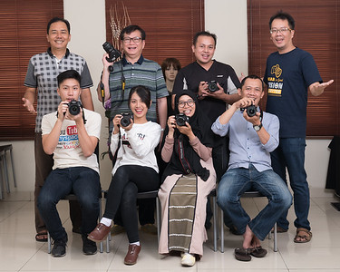 Kursus kilat dasar fotografi & lighting 15 & 16 September 2018