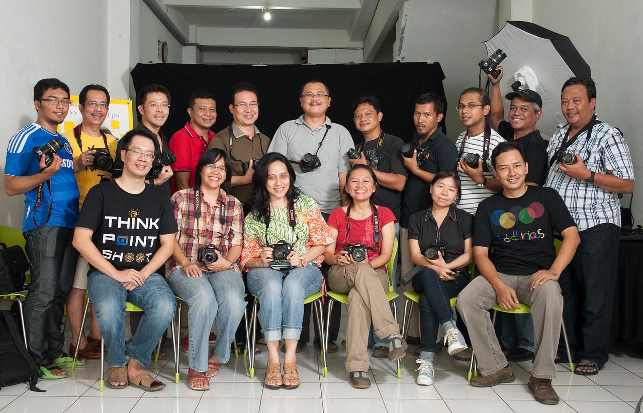 Dasar fotografi Angkatan 40, Sabtu-Minggu 29-30 September 2012