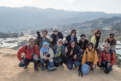 Yuanyang, Yunnan 5-12 Maret 2016