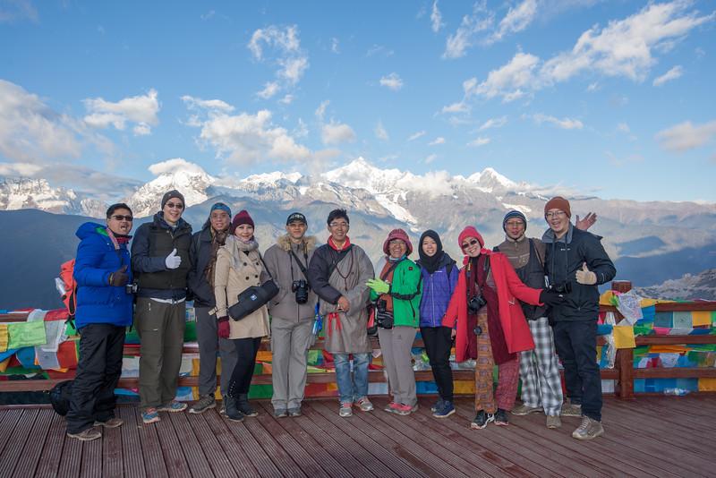 Tour fotografi Meili Snow Mountain 2014