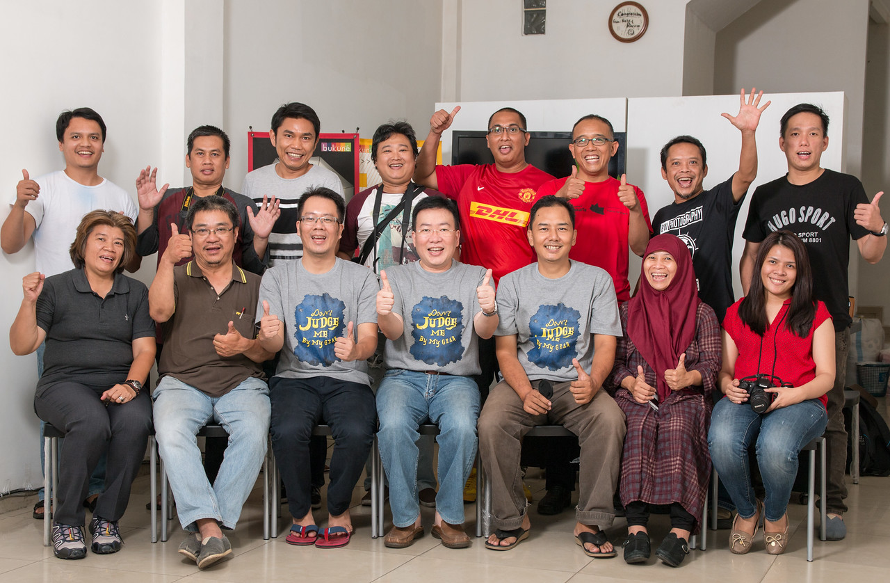 Kelas Mastering the art and photography technique Oktober 2015
