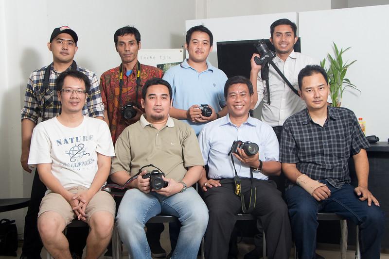 Kelas dasar fotografi dan lighting malam  13-15 Oktober 2014