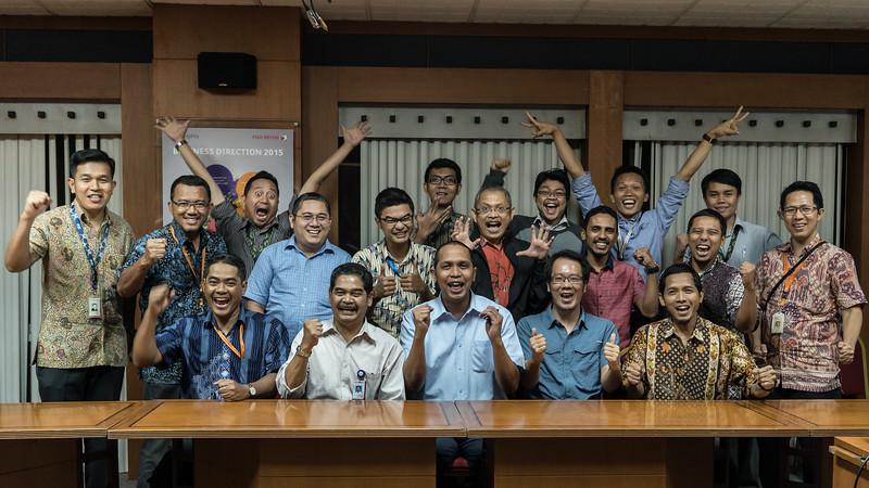 Astragraphia Workshop membuat foto Juara!