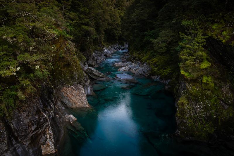 Blue Pools, Otago