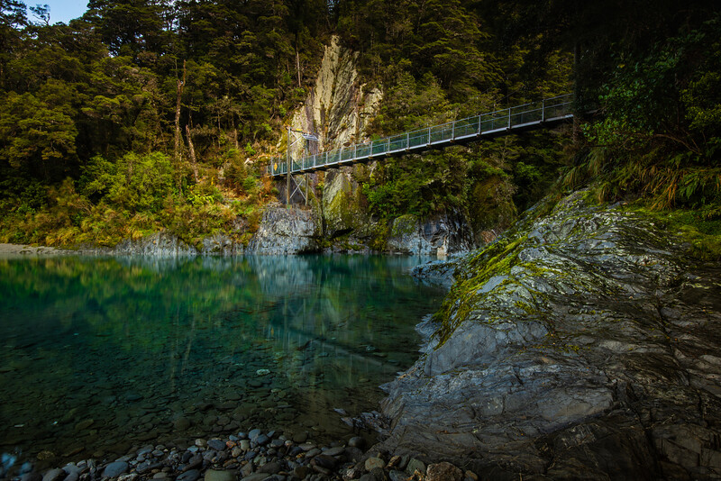 Blue Pools, Otago
