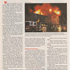 Firehouse, Article photo. Taftville Apartment fire. January 1995