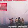 Fire Chief Magazine (Cover Shot) May,1995. Jewitt City Mil fire.