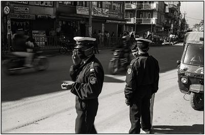 Katmandou - autour de Bodnath