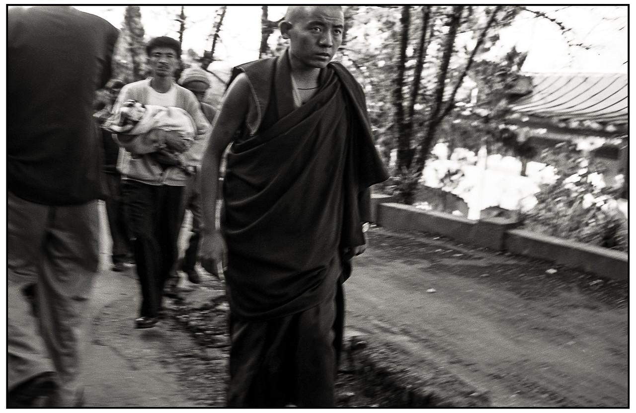 Sikkim - visite du Dalaï Lama à Gangtok