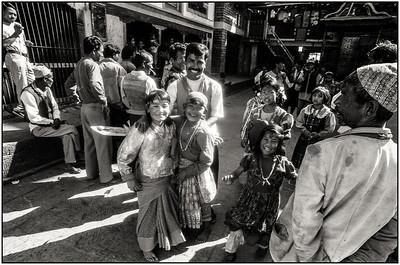 Vallée de Katmandou - procession