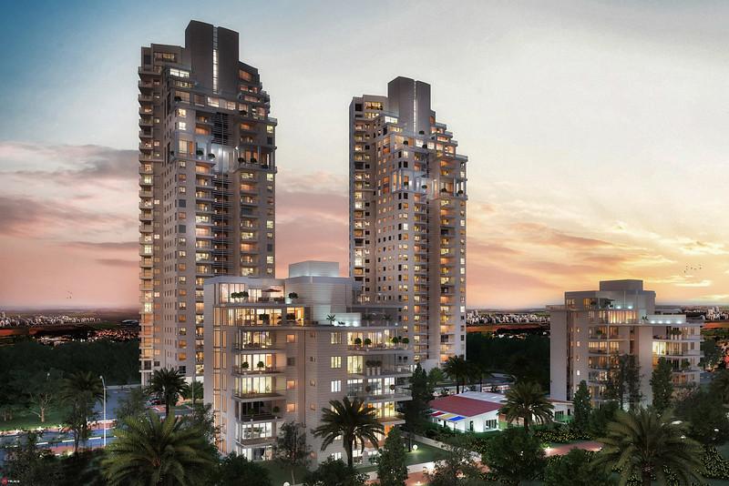 :: צרפתי :: פרויקט מגורים-נתניה :: רוטמן אדריכלים