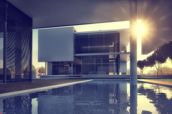ציונוב ויתקון אדריכלים :: בית פרטי ::