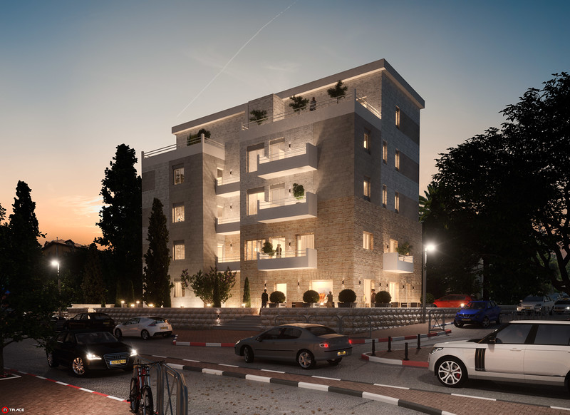 בניו מגורים-שימור:: יגאל לוי אדריכלים :: ירושלים