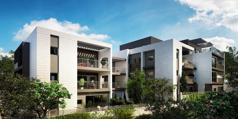 פרויקט מגורים-רמת השרון :: תשובה סוסנר אדריכלים ::