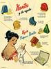 NANTES Diverse 1954 Argentina 'Nantes y los regalos - Regale perfumes Nantes'