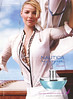 NAUTICA My Voyage for Her 2008 US (Macy's stores) 'Katherine Heigl for Nautica - The new fragrance for her - Chart your own course...'