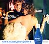 NIVEA Body Milk 1980 Spain (spread 1 page & third page) 'Cuida tu piel pata ti, cuida tu piel para él'