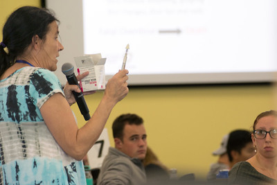 First Year Students' Narcan Training