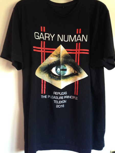 "Gary Numan, 2016. My sister Sharon bought this at the Norwich UEA, and gave it to my sister Linda as a present. She then donated it to me, as she said it was ""too big"" for her."